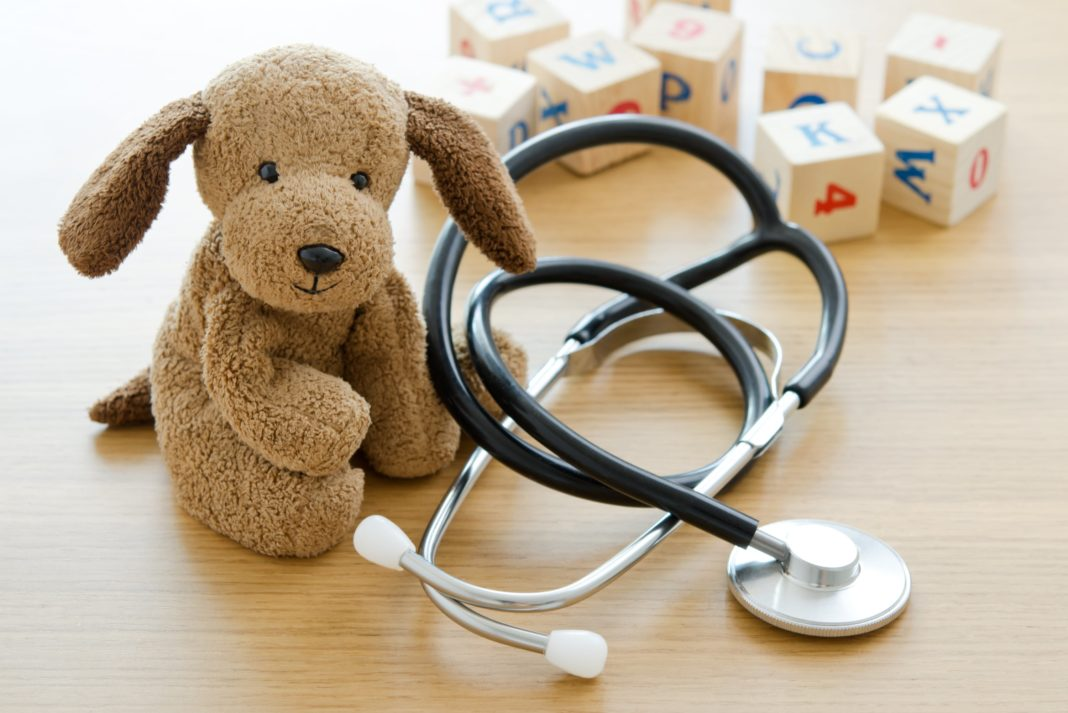 Stuffed Animal Stethoscope Wooden Blocks