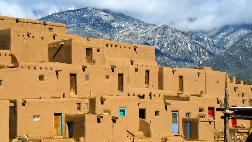 Taos New Mexico Ancient City