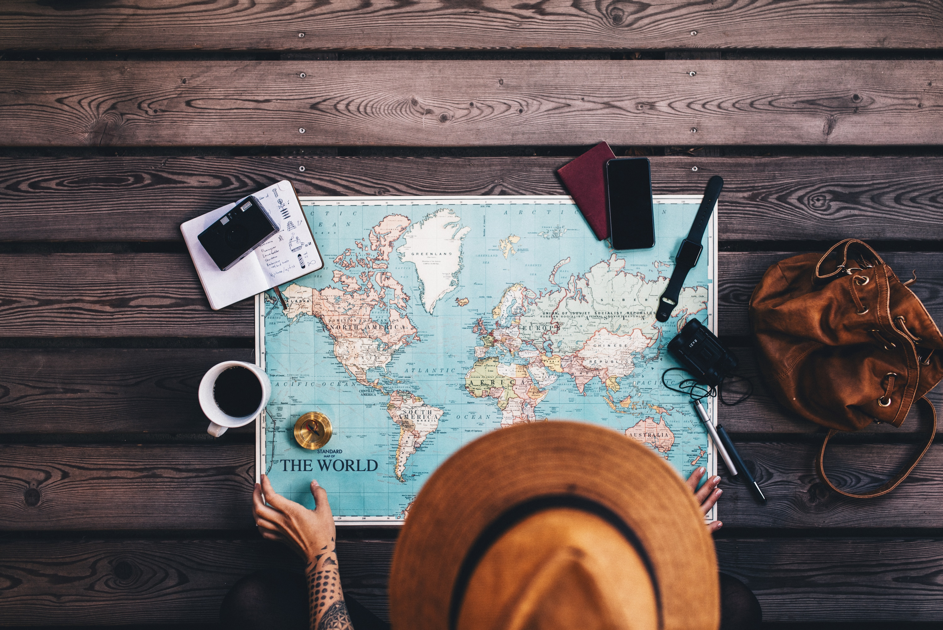 15 Ways to Travel the World for Free (or Even Get Paid)