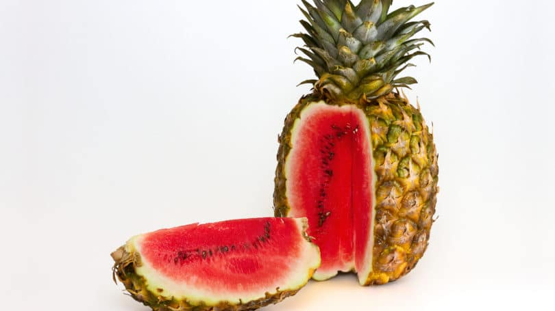 Watermelon Pineapple Hybrid Food Gmo
