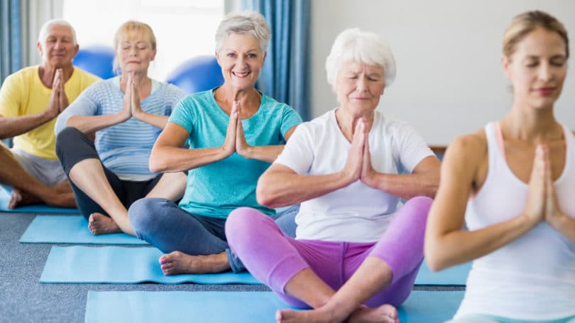 Yoga Class For Senior Citizens Namaste