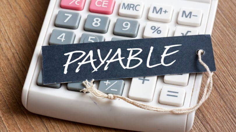 Accounts Payable Calculator Tag