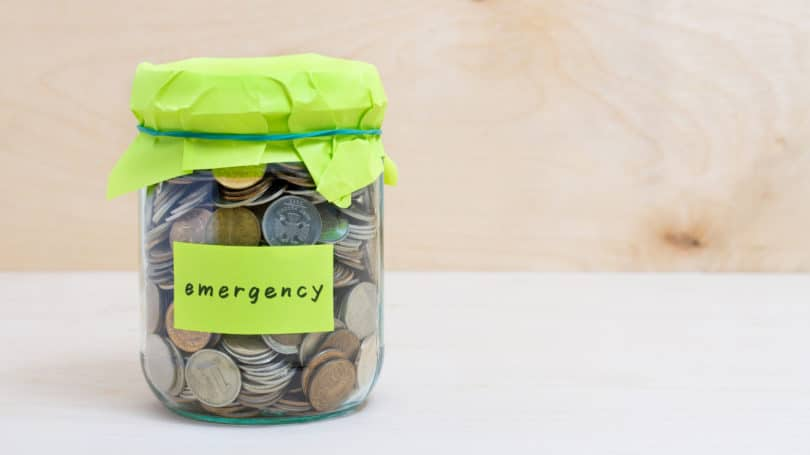 Emergency Fund Jar Coins