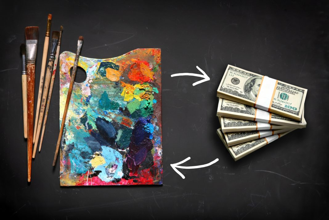 Hobbies That Make You Money Paint Brush Cash