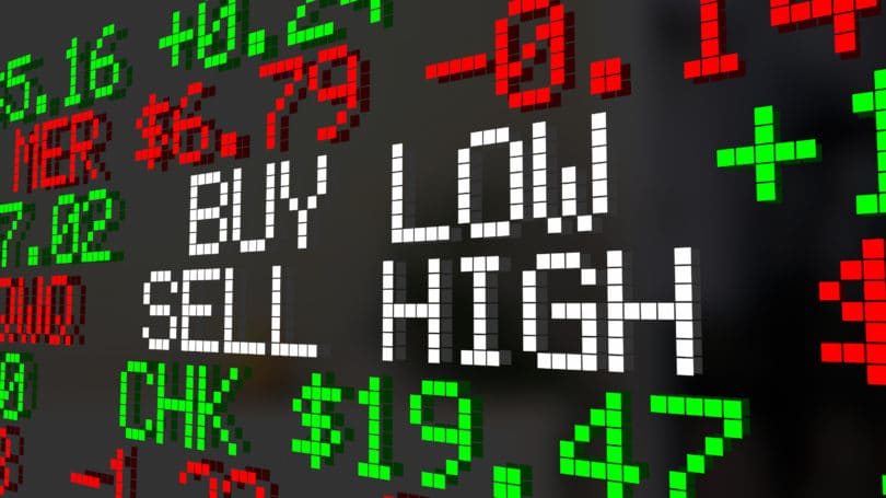 Buy Low Sell High Stock Market Ticker
