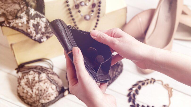 Consumer Debt Shopping Empty Wallet