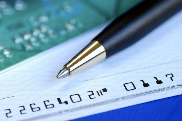 Credit Card Convenience Checks