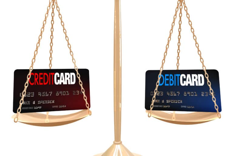 Difference Between Credit Debit Card
