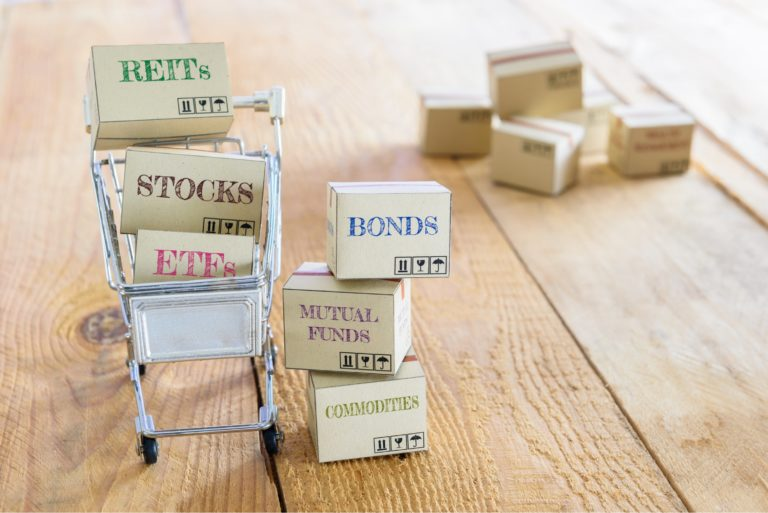 Equity Investments Reit Etf Stocks Bonds Mutual Funds Commodities