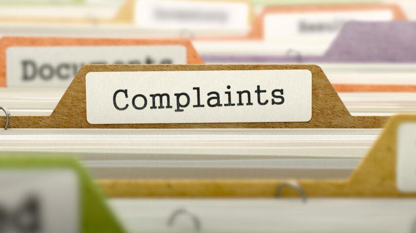 Filing A Complaint Folder