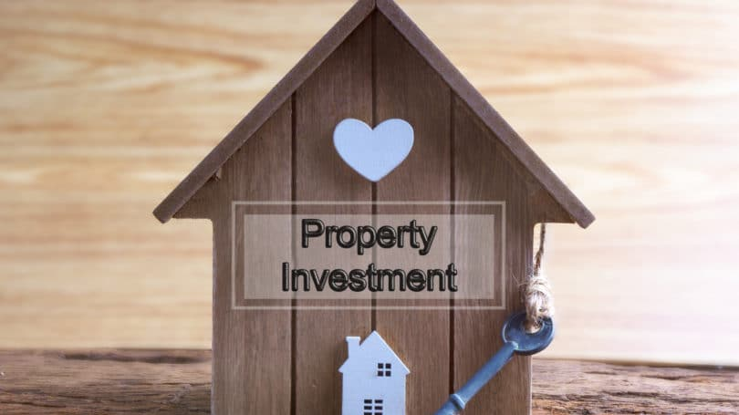 Investment Property House Key Heart