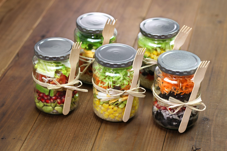 5 Simple Mason Jar Salad Recipes Ideas