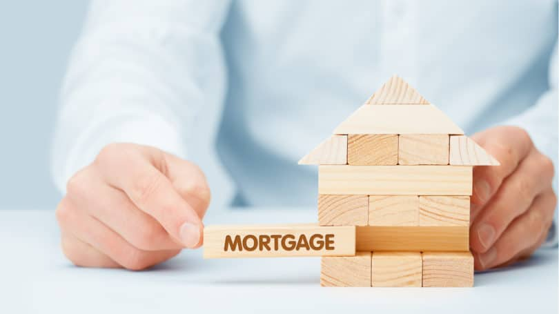Mortgage Jenga Bricks Stability