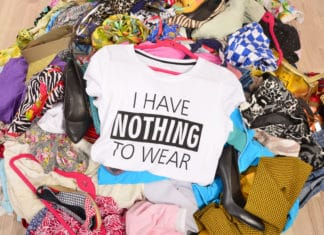 Pile Of Clothes Clutter Junk Mess