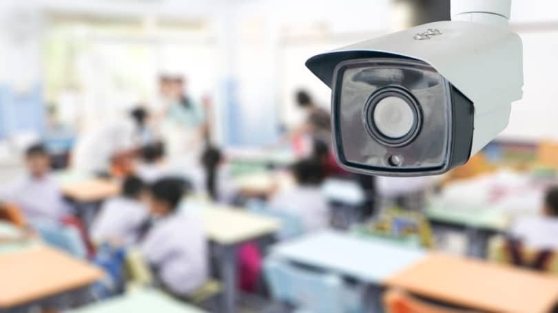 School Safety Camera Surveillance Classroom