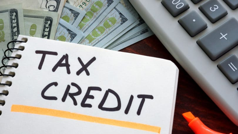 Tax Credit Higlighter Cash Calulator