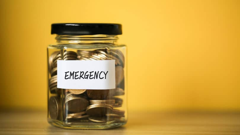 Emergency Jar Coins Fund Reserve