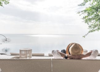 Good Life Relaxing Vacation Resting Laying Water Front