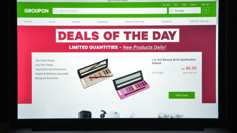 Groupon Promotion Deal Of The Day New Product