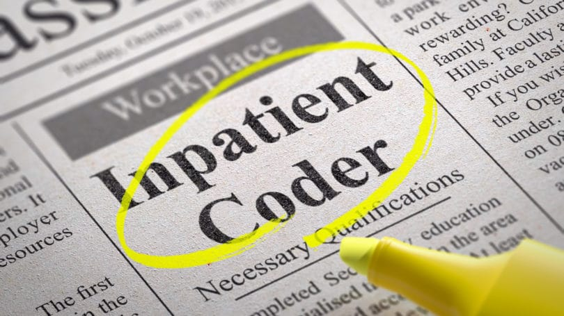 Medical Inpatient Coder Newspaper Ad