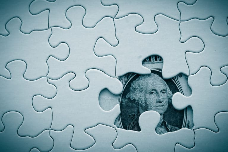 Missing Money Puzzle Dollar Bill