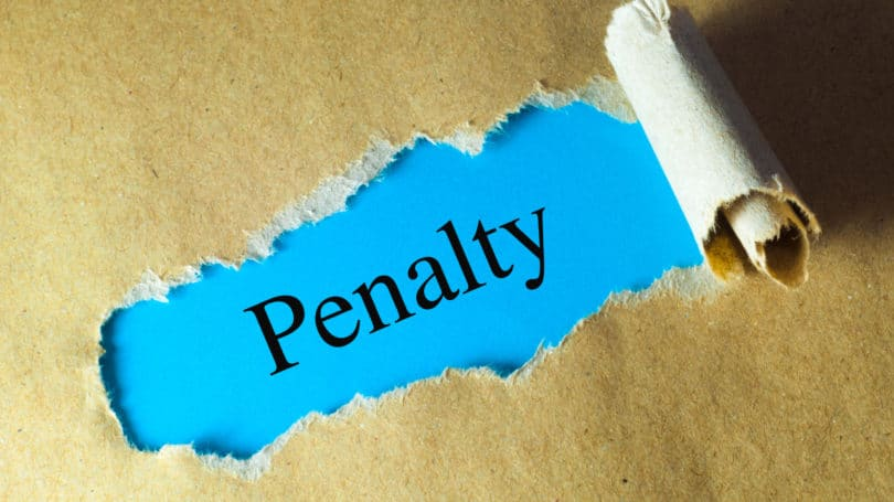Penalty Peeled Rolled Paper Hidden