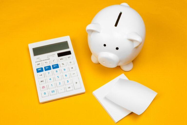 Piggy Bank Calculator Savings Budget Planning Finances