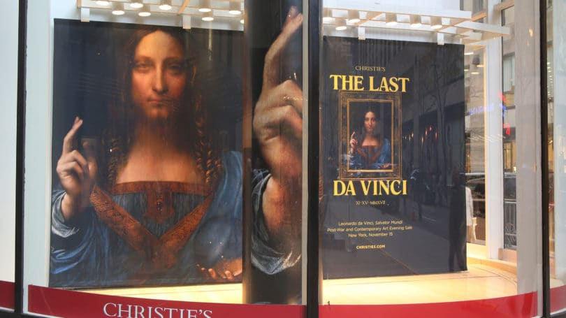 Salvator Mundi Leonardo Da Vinci Fine Art Auction Christies