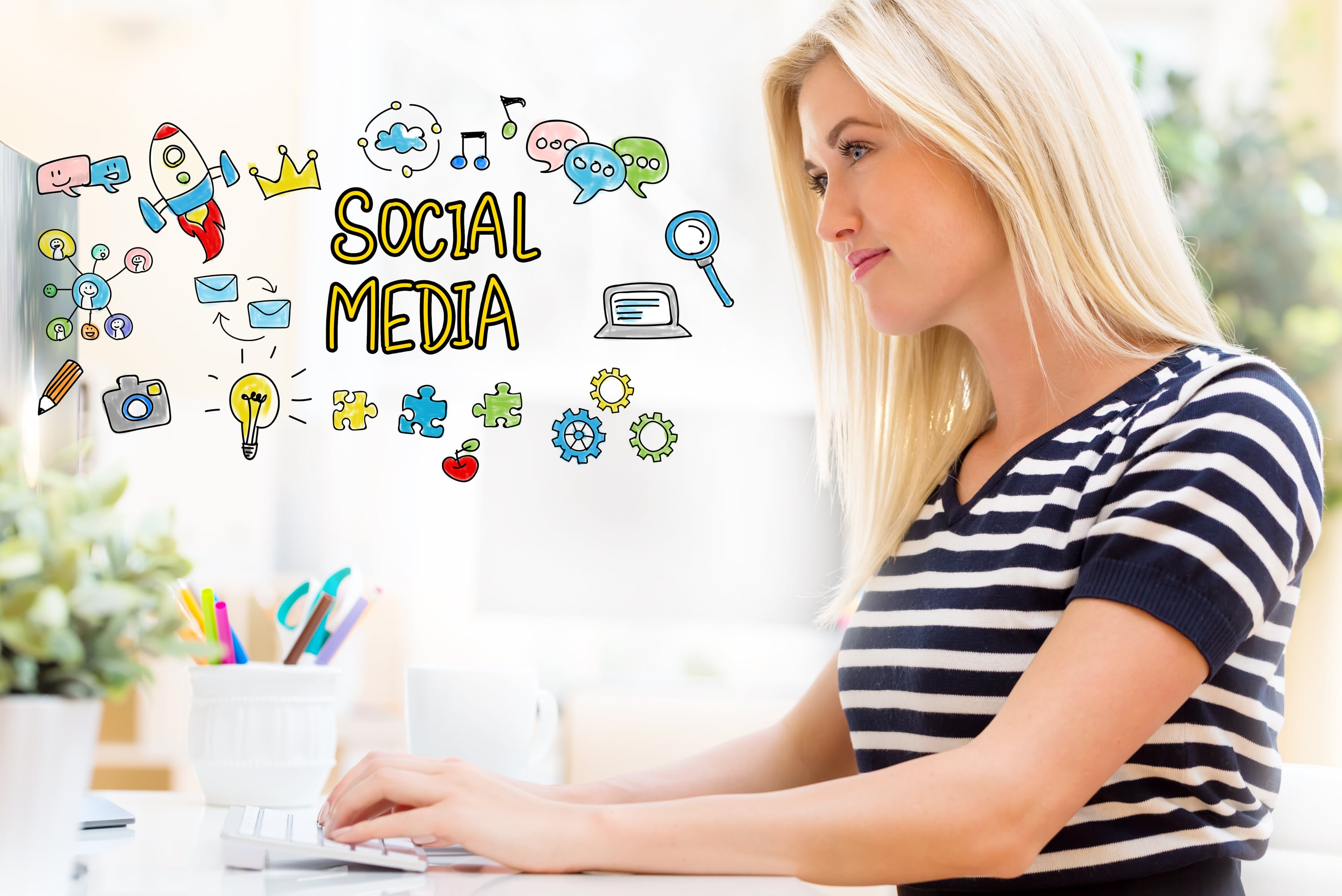 Build a Strong Brand Image Through Social Media Optimization Services