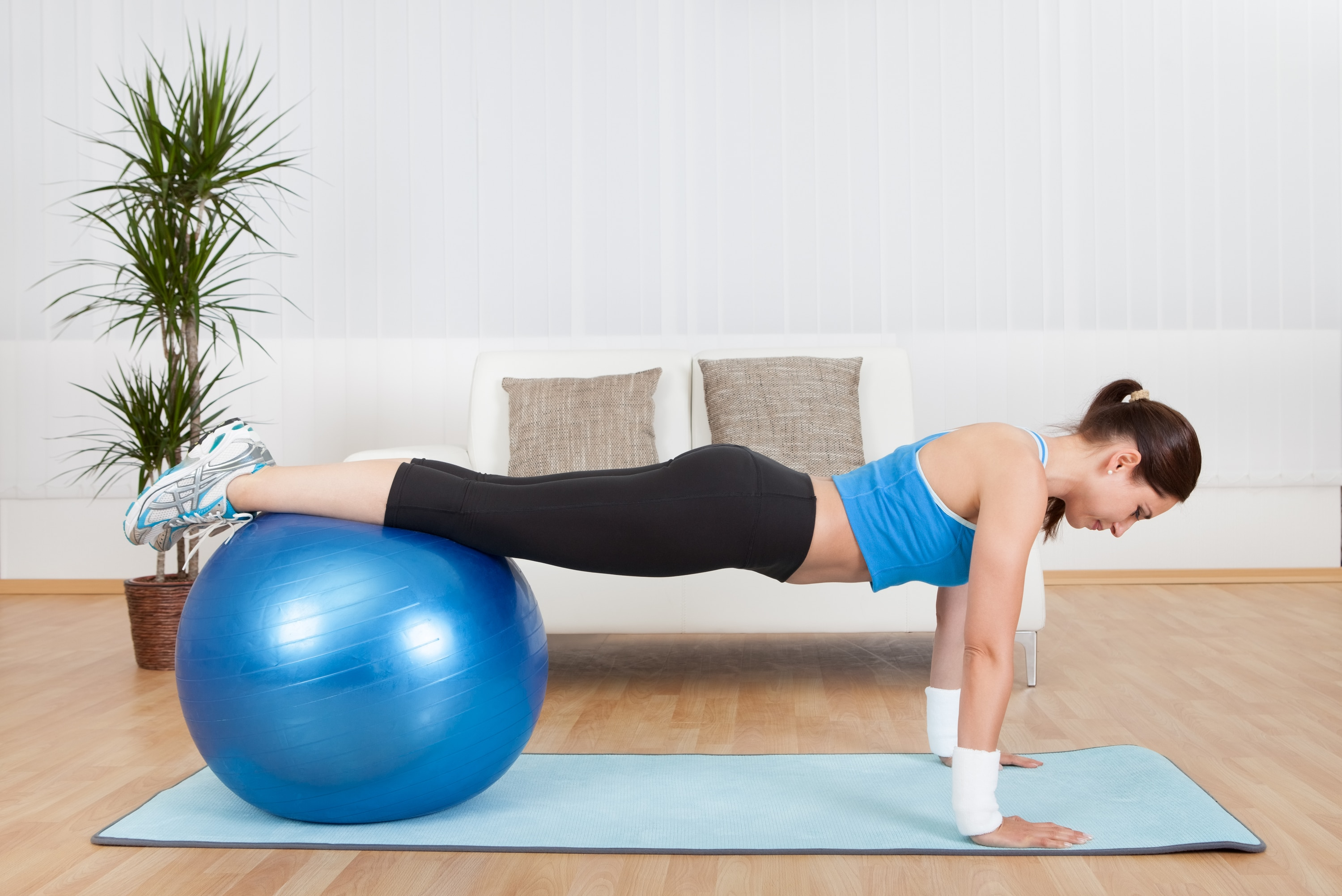 10 Best Stability Ball Exercises & Workouts