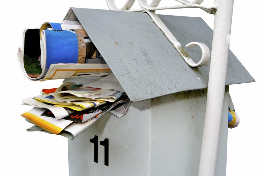 Stop Receiving Junk Mail