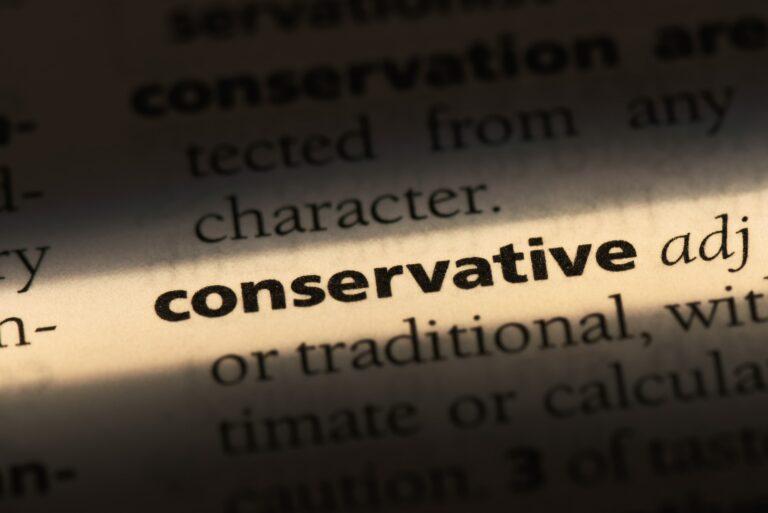 Tightward Conservative Person