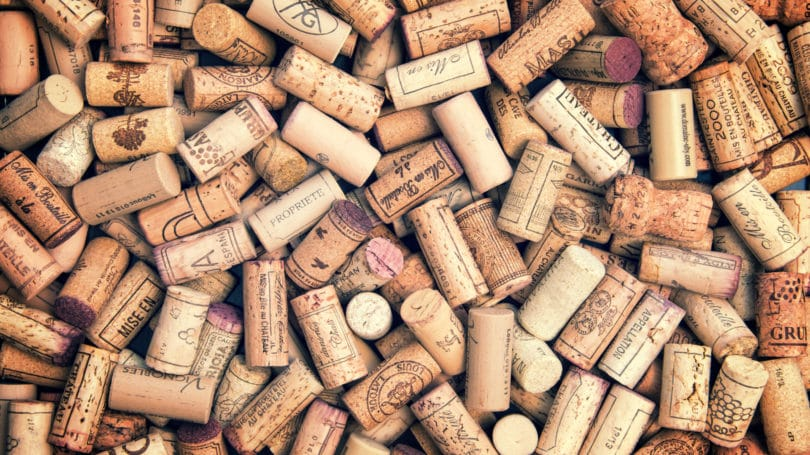 Wine Corks Collection Bordeaux France