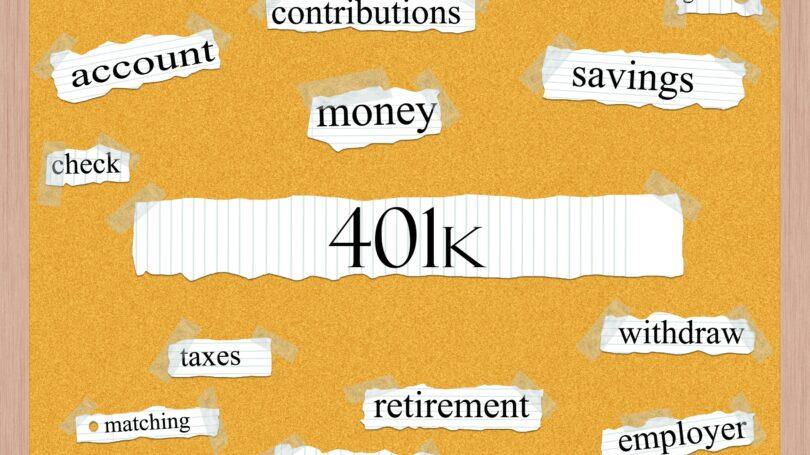401k Contributions Matching Company Employer Savings