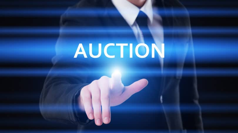 Auction Bid Price