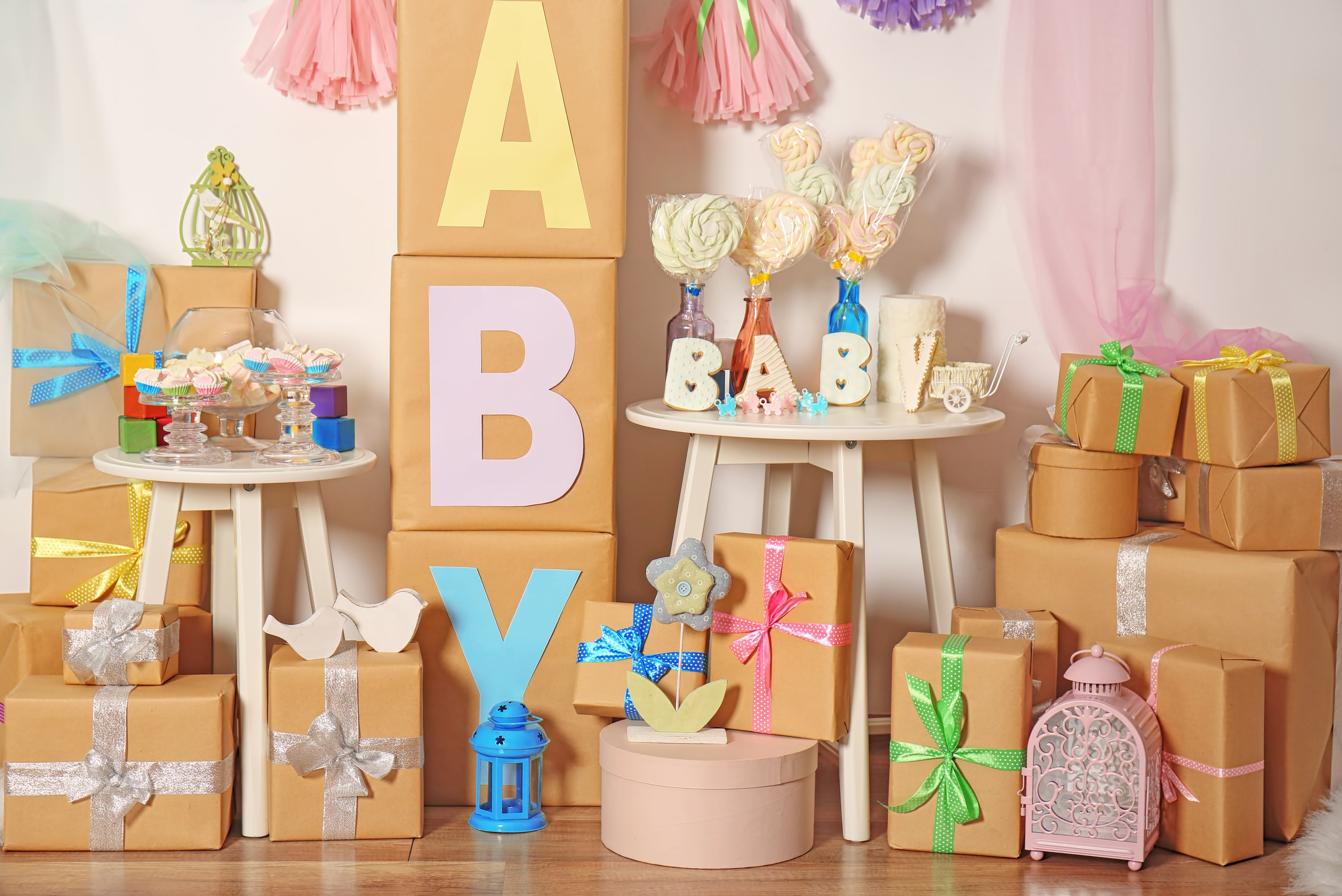 5 Cheap Unique Baby Shower Decoration Ideas