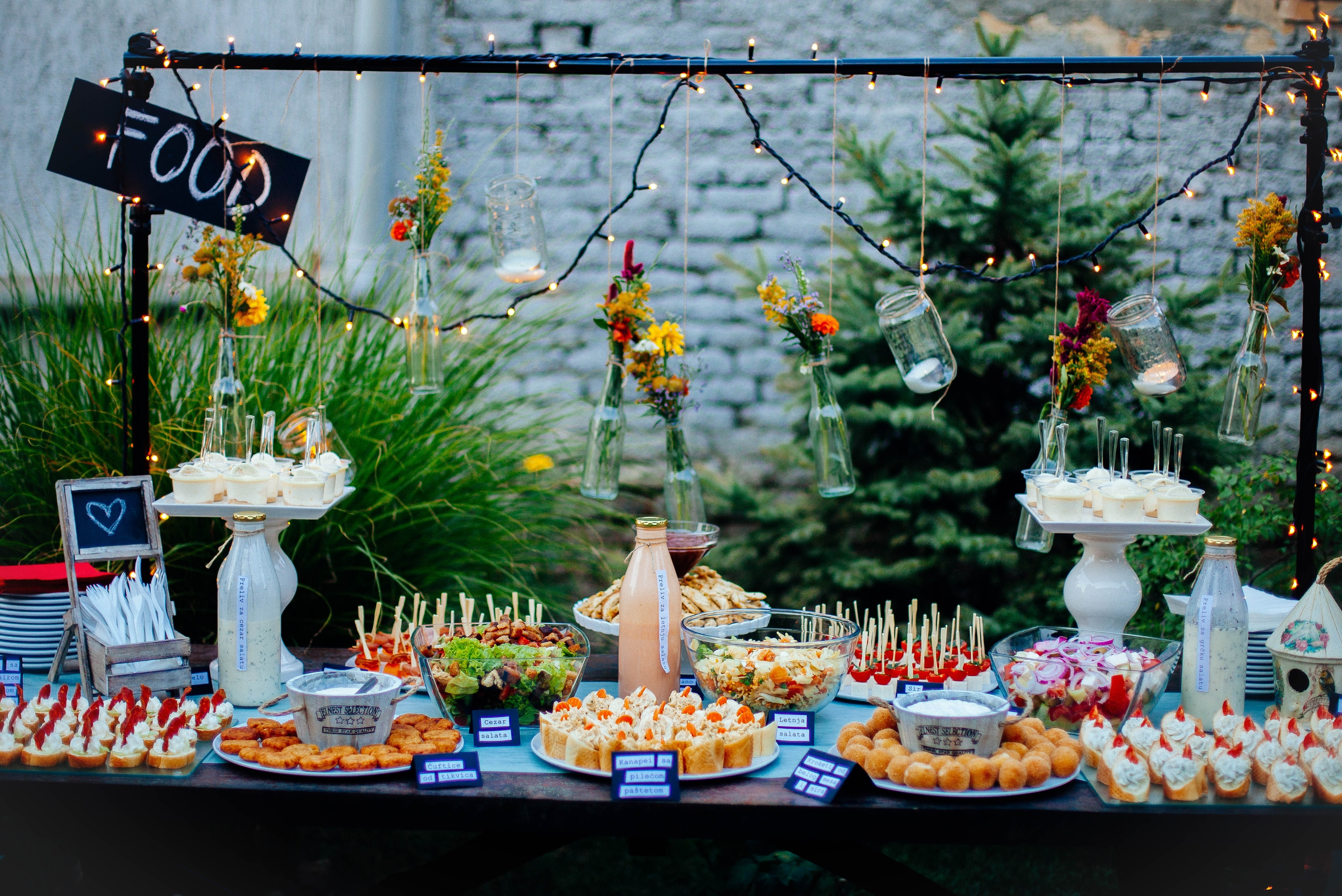 5 Affordable Bridal Shower Food Menu Ideas