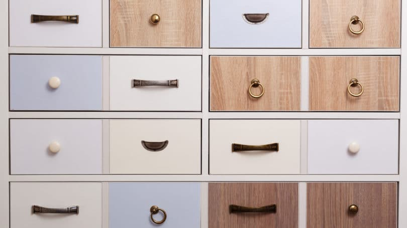 Cabinet Knobs Options Draws
