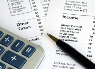 Calculate Federal Income Tax Rate