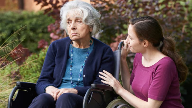 Care Giving Emotional Upheaval
