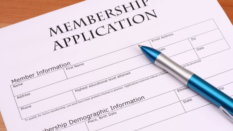 Cfa Membership Application