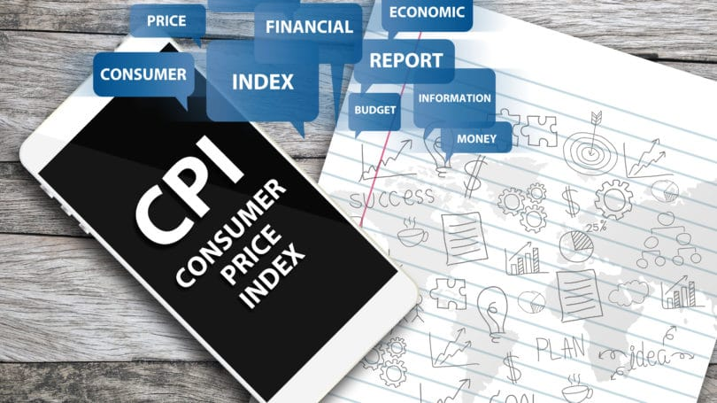 Consumer Price Index Cpi Financial Econimc Report Notepad