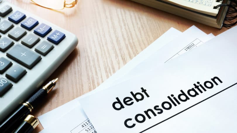 Debt Consolidation Paper Calculator