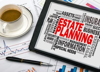 Estate Planning Tablt Coffee Charts Reserach Finances