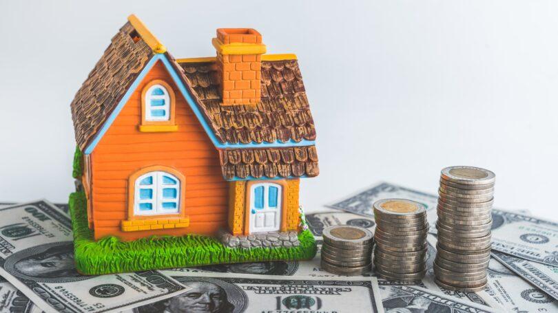 Home Improvement Costs Cash=bills House