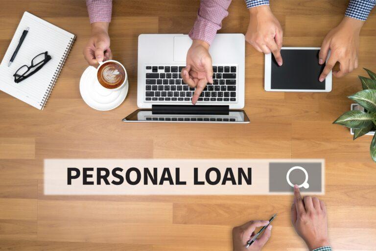 Personal Loan Search Bar Laptop