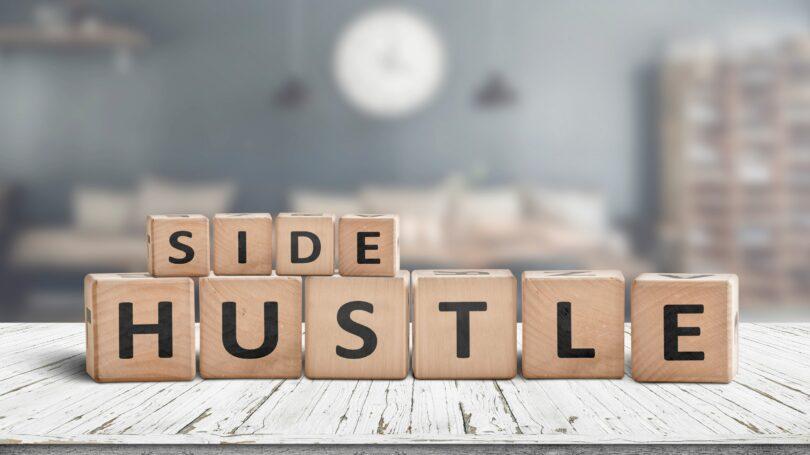 Side Hustle Letters Blocks