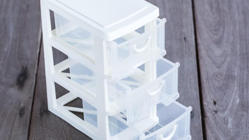 Stackable Plastic Drawers Space Saver Organizing