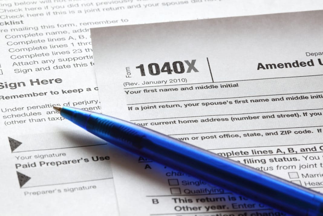How to maximize federal tax refund my amended return