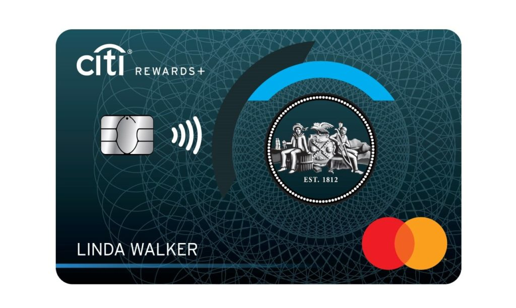 Citi Rewards Plus Card Art